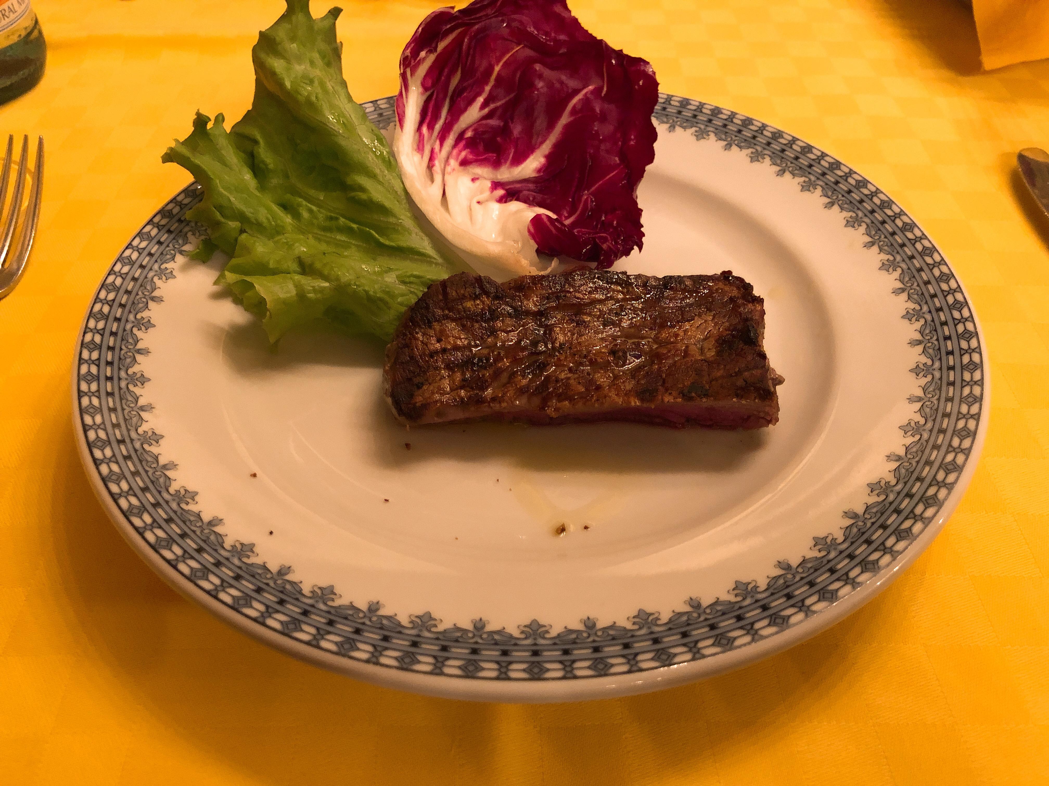 ピエモンテ牛フィレ肉の炭火焼
